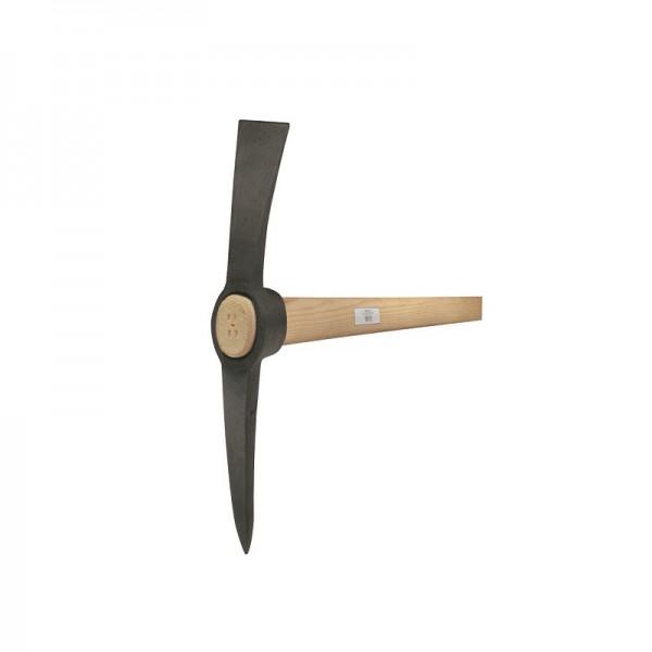 Ideal Aktions-Kreuzhacke geschmiedet mit Buchenstiel 95 cm