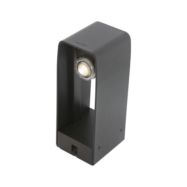 in-lite Stehleuchte LED ACE dark 12V 3W Alu. Warmweiß