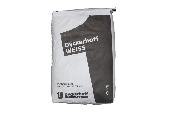Dyckerhoff Weißzement CEM I 42.5 R dw 25kg