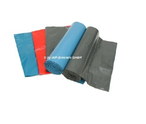 IAP LDPE-Müllsäcke 070 blau 70x110cm 120l 25 Stück