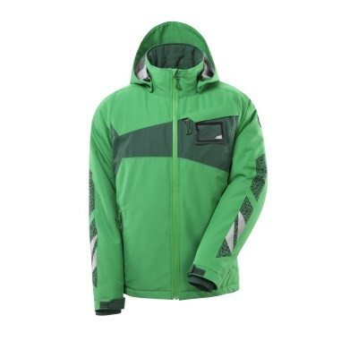 MASCOT® Winterjacke Gr. L m. CLIMASCOT®-Futter grasgrün/grün