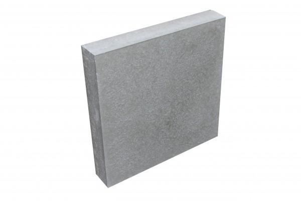 GEHWEGPLATTE nativo Grau L/B/D: 35/35/6.5cm ohne Fase
