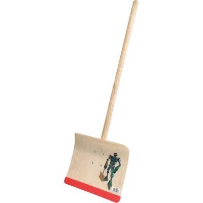 Triuso Kinderschneeschieber Sperrholz 28cm Sperrholz montiert