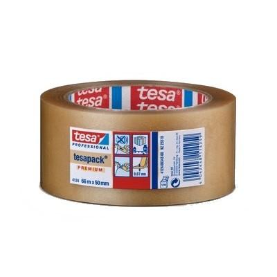 tesa Packband PVC 66mx50mm 00 farblos - 4124