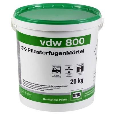 GftK VDW 800 2K-Pflasterfugenmörtel natur 25kg