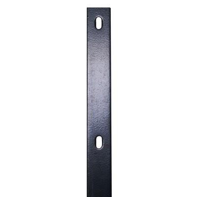 Flacheisen 1260mm anthrazit f. Pfosten - länge 1700mm