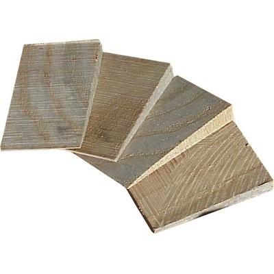 Triuso Holzkeile-Satz f. Werkzeugstiele 4 Stück