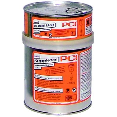 PCI Apogel-Schnell 0.5kg Kombi Gebinde Farbe:transparent