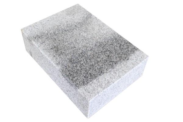 Granit Blockstufe G603 JM-X 15x35x100 Grau OF 6 Seiten gesägt + gefl. u gefast