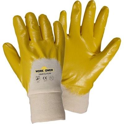 Handschuh Nitrile Ultralite 9 gelb 131/9