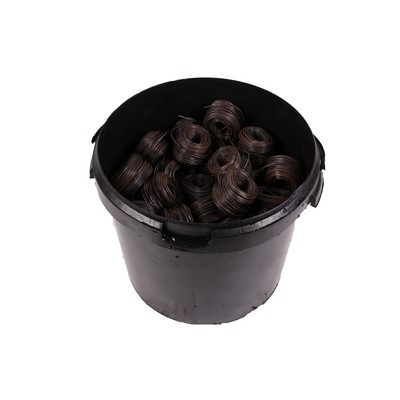 Bindedrahtröllchen 1.4 weich verzinkt im 20kg Eimer