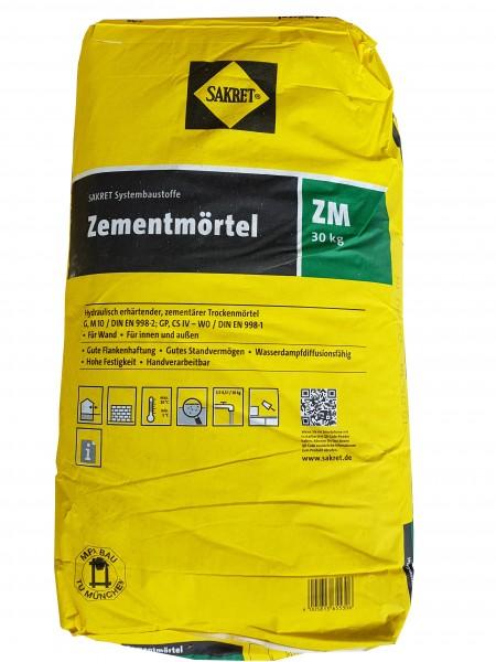 Sakret Zementmörtel ZM 30kg