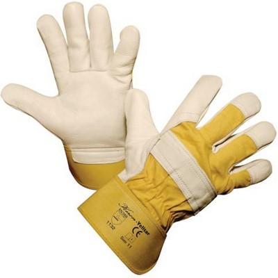 Rualtex Rindleder Handschuhe YELLTOR EN388 Gr. 11