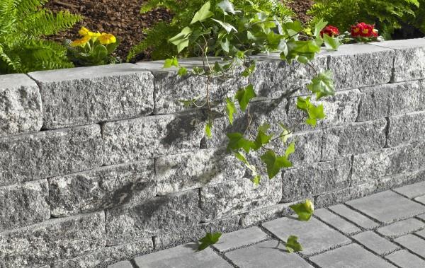 Galanda Avara Mauer GE 30x15x12cm Grundelement anthrazit-nuanciert