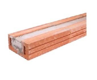 Stöckl Ziegelstürze 14.5x7.1 - 125cm