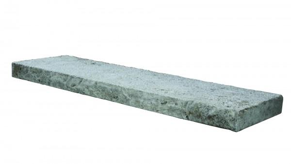 Lagos Silver silbergrau Mauerabdeckung 100/30/6 cm