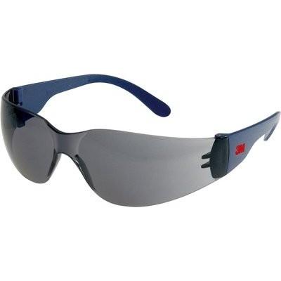 3M Schutzbrille Standard grau Bügelneigung einstellbar - 2721 PRO