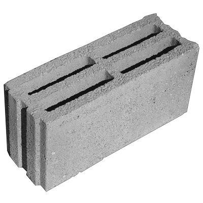 Helminger Betonstein 17.5cm Hbl 4 B17 L/B/H 49.5/17.5/23.8cm