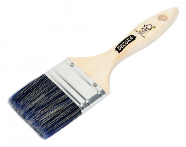Nespoli Flachpinsel Albus FSC 6 blau Stärke 50mm Polymix blau