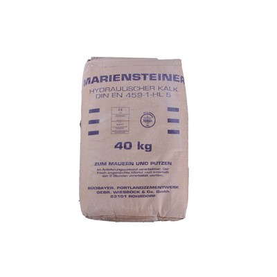Mariensteiner Hydraulischer Kalk HL5 40kg Sack