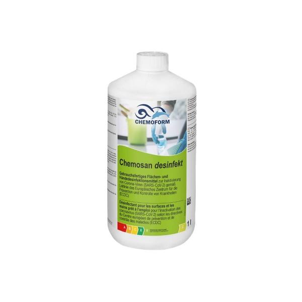 Heissner Chemosan Hand- u. Flächen- desinfektion 1L gebrauchsfertig
