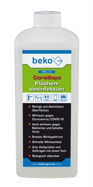 Beko TECLINE CoraSept 1 Liter Flächendesinfektion