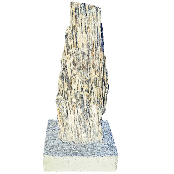 Betkom Gneis-Nadeln in Betonsockel stehend grau-beige - über 120 cm extra