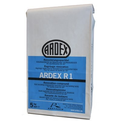 Ardex R1 Renovierungsspachtel 5kg Beutel
