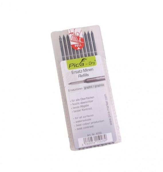 Pica-Dry Graphitminen-Set grau 10tlg - 4030