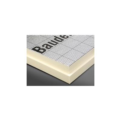 BauderPIR FA-TE F 1200x600x60mm WLS 023 beids. alukaschiert m. Falz