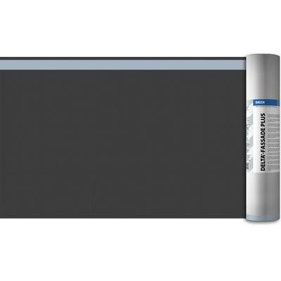 Dörken Delta-Fassade Plus UV-beständig 50x1.5m diffusionsoffene Dämmschutzbahn