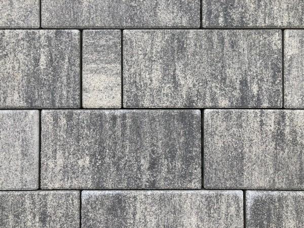 Carre Pflasterstein 30x20x8cm weiß-grau-meliert