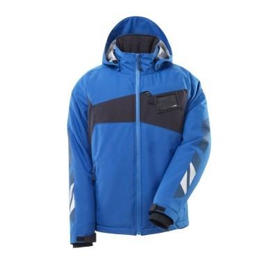 MASCOT® Winterjacke Gr. L m. CLIMASCOT®-Futter azurblau/schwarzblau