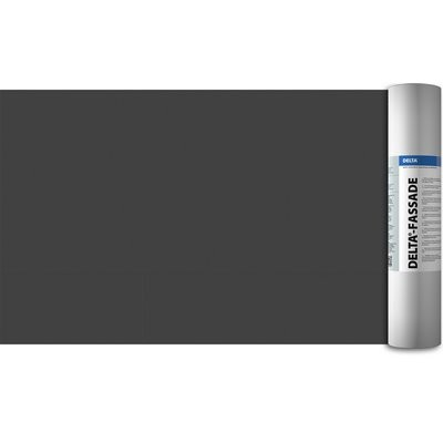 Dörken Delta-Fassade UV-beständig 50x1.5m diffusionsoffene Dämmschutzbahn