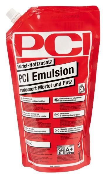 PCI Emulsion 1kg Farbe:milchigweiß Standbodenbeutel