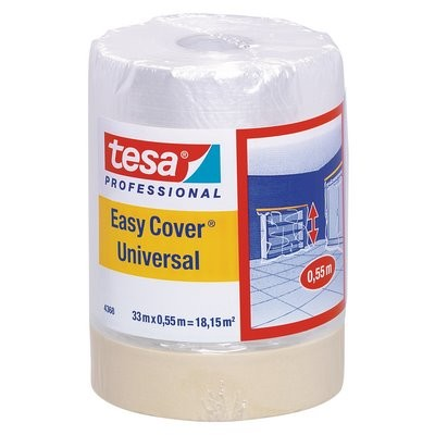 tesa Easy Cover® Folie Matt 33mx550mm 00 Hellbeige - 4368