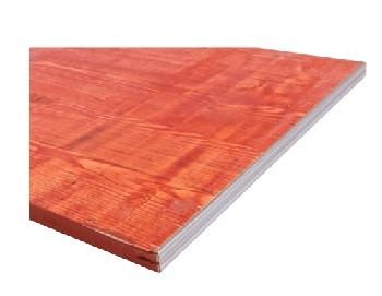 3-S-Schaltafel rot FI/TA 500x2000x21mm E-Profil Kantenschutz