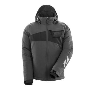 MASCOT® Winterjacke Gr. L m. CLIMASCOT®-Futter dunkelanthrazit/schwarz