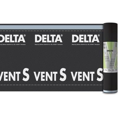 Dörken Delta-Vent S Plus 50x1.5m m. Klebezonen an beiden Rändern